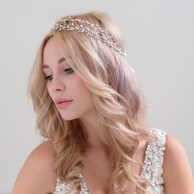 Pearl Hairpiece
