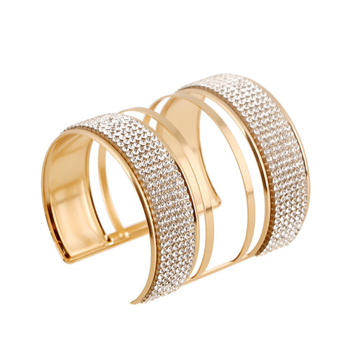 Elegant Gold Cuff Bangle