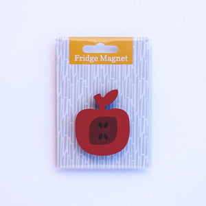 apple fridge magnet in single pack