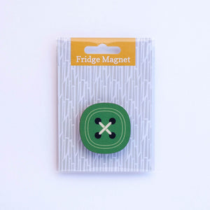 button fridge magnet in single pack