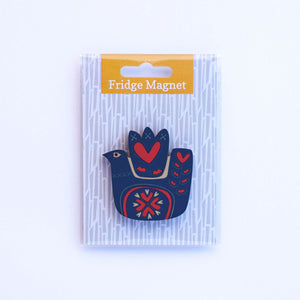 love bird fridge magnet in single pack