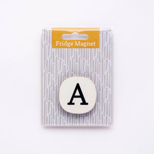 letter fridge magnet single pack