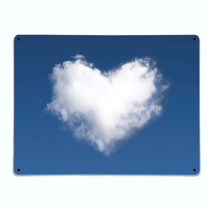 Cloud Heart Magnetic Notice Board