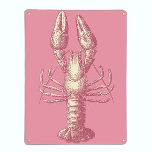 Lobster Illustration Magnetic Notice Board