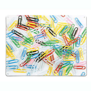 Paper Clips Magnetic Notice Board