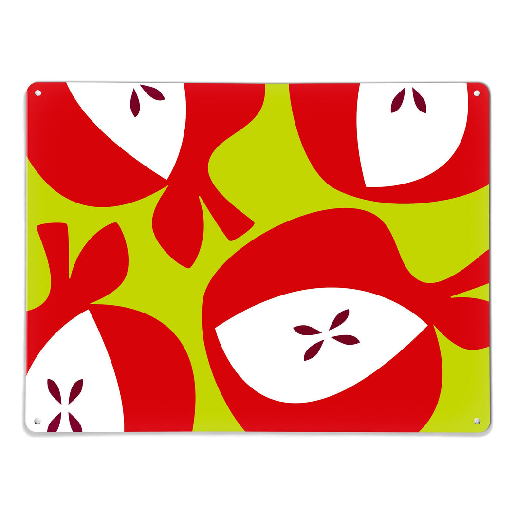 Apples Red Magnetic Board