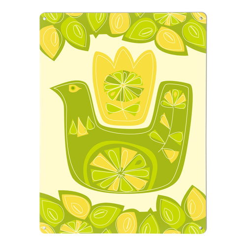 Citrus Bird Magnetic Board Lemon Lime