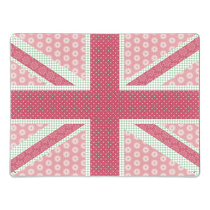 Cool Britannia Pink and Green Magnetic Board