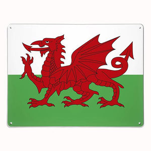 'Flag of Wales' - Large Magnetic Notice Board / Wall Art
