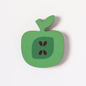 Green Apple Fridge Magnet