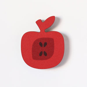 Red Apple Fridge Magnet