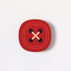 Red Button Magnet