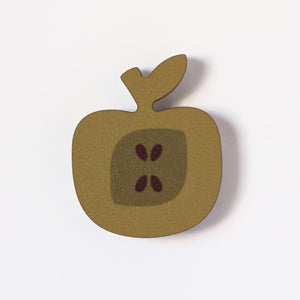 Russet Apple Fridge Magnet