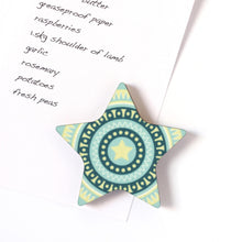 Turquoise Star Magnet