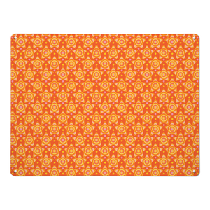 Stars Orange Magnetic Board
