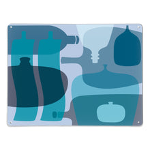Ten Blue Bottles Magnetic Board