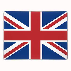 'Union Jack' - Large Magnetic Notice Board / Wall Art