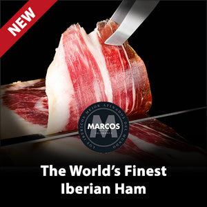 NEW. Marcos. The World's Finest Iberian Ham.