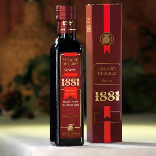 1881 Sherry Vinegar Reserva, , the Spanish Store, Shop Spanish products online, Toronto Ontario