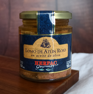 Herpac Red Tuna Loins in Olive Oil 250 g