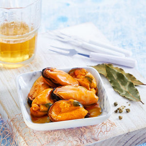 Los Peperetes Mussels in Pickled Sauce |  Spanish Seafood Conservas available for delivery in Canada | Shop Online The Spanish Store