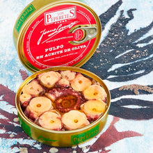 Los Peperetes Octopus in Olive Oil |  Spanish Seafood Conservas available for delivery in Canada | Shop Online The Spanish Store