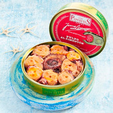 Los Peperetes Octopus in Paprika Sauce |  Spanish Seafood Conservas available for delivery in Canada | Shop Online The Spanish Store