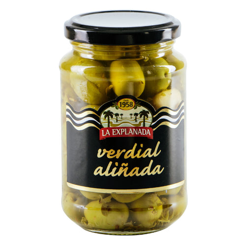 La Explanada Seasoned Green Olives, Verdial