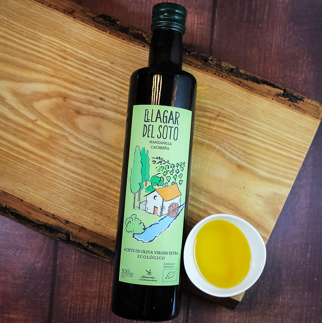 El Lagar del Soto Organic EVOO Manzanilla Cacereña 500 mL |  Shop Spanish Products online, Spanish Imports Olive Oil available in Canada , Toronto Ontario