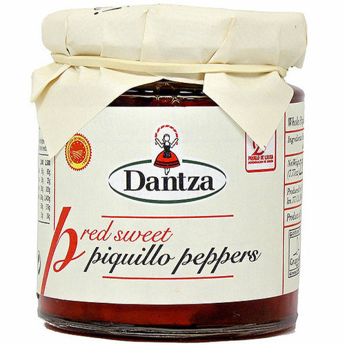 Dantza DO Lodosa Whole Red Piquillo Peppers