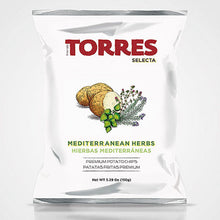 Torres Selecta Mediterranean Herbs Premium Potato Chips from Spain | Spanish Imports Gourmet Grocery Food Shop Online The Spanish Store