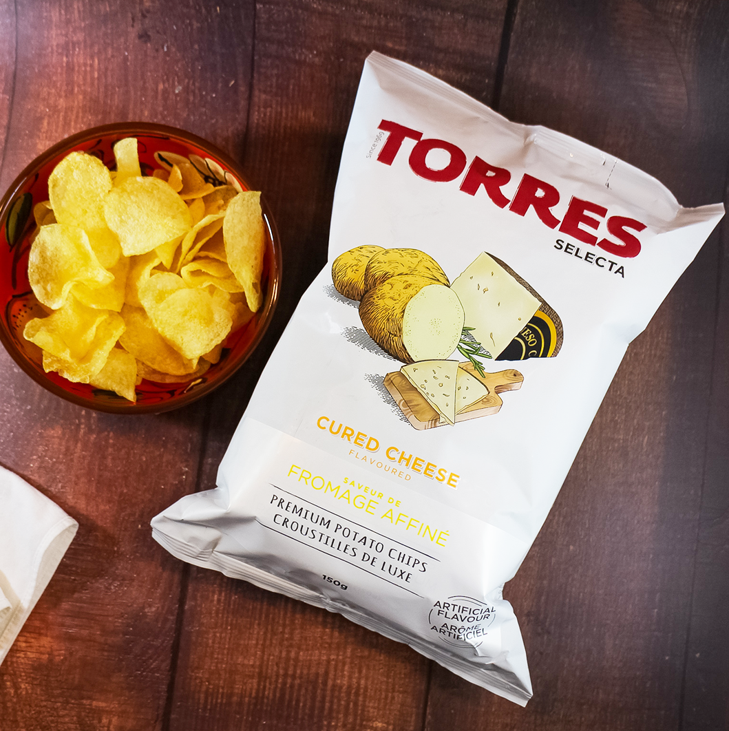 Torres Gourmet Potato Chips from Spain available Shop Online in Canada | The Spanish Store | Torres Chips Toronto Ontario Shop Online