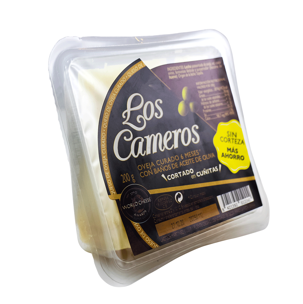 Señorio de Cameros Sheep Cheese Cured 6 months 200g wedge