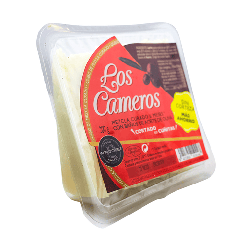 Los Cameros Blended Cheese Cured 6 months - Sliced Wedge