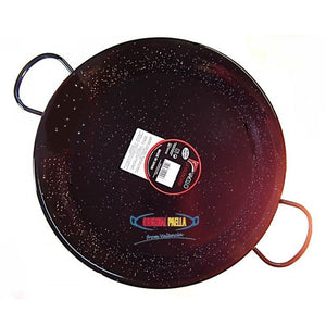 Original Paella Enamelled Steel Paella Pan | Make Paella at Home in Canada | Spanish Traditional Dishes
