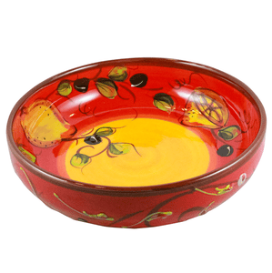 Handmade and handpainted ceramics from Spain |Shop online in Canada Salad Bowl Ceramic