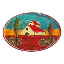 Antonio Ortiz Large Pizza Plate, Ceramic perfect for pizza night, handmade in Spain,  The Spanish Store, Shop Spanish products online, Toronto Ontario Hamilton Ontario