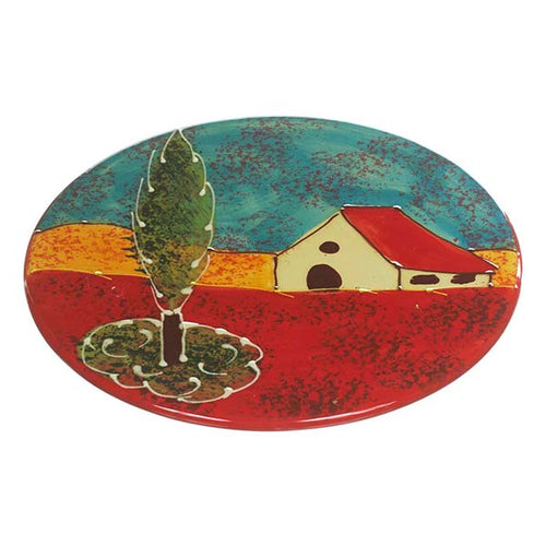 Antonio Ortiz Hot Plate, Handmade and handpainted  ceramics made in Spain,  The Spanish Store, Shop Spanish products online, Toronto Ontario Hamilton Ontario