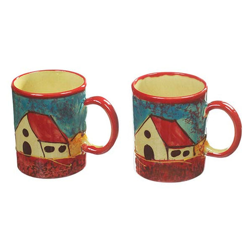Antonio Ortiz 2-Piece Mug Set, Handmade Spanish Ceramics, , The Spanish Store, Shop Spanish products online, Toronto Ontario Hamilton Ontario