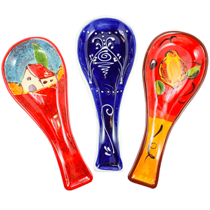 Antonio Ortiz Handmade Spanish Ceramics | Spoon Holder | Shop Online spanishstore