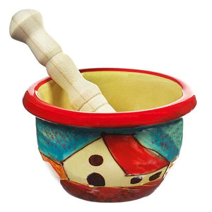 Antonio Ortiz Herb and Spice Press,  The Spanish Store, Shop Spanish products online, Toronto Ontario Hamilton Ontario, Mortar and Pestle handmade ceramic