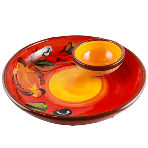 Handmade ceramics from Spain | Olive dish for tapas night buy online in Canada