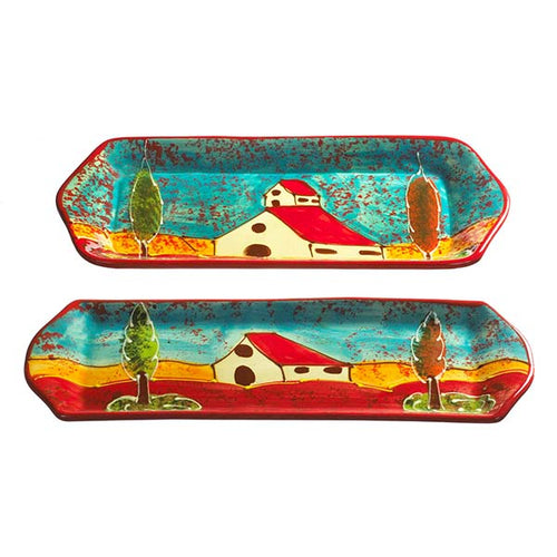 Antonio Ortiz Rectangular Place Set Casa | Handmade Ceramics imported from Spain to Canada,  The Spanish Store, Shop Spanish products online, Toronto Ontario Hamilton Ontario