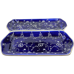 Antonio Ortiz 2-Piece Rectangular Plate Set