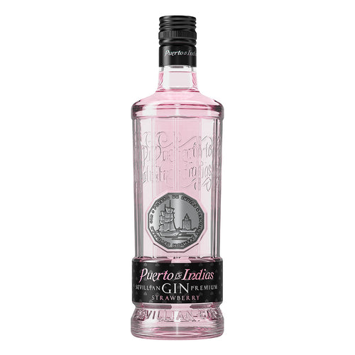 Puerto de Indias Strawberry Pink Gin from Spain |  | Spanish imports in Canada Ontario Toronto Hamilton | The Spanish Store