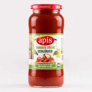 Apis Organic Tomato Sauce (Frito), Shop for Spanish food products online in Canada,  The Spanish Store