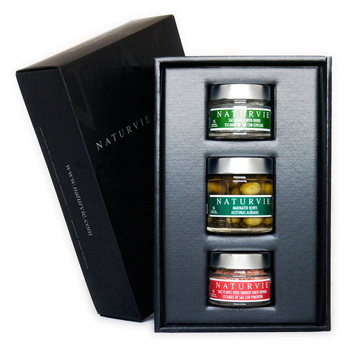 Naturvie Salts & Olives Assorted Box