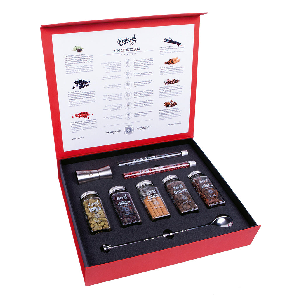 Regional Gin & Tonic Box - View 1 | Drink Kit from Spain to Canada