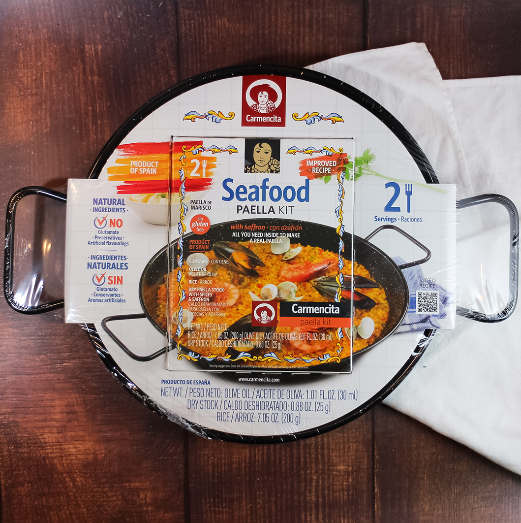 Seafood Paella Kit | The Spanish Store Toronto Ontario Shop Online Spanish Cuisine