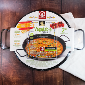 Carmencita Vegetable Paella Kit to make traditional Spanish paella at home easily with vegetables | Buy Spanish food online Toronto, Hamilton